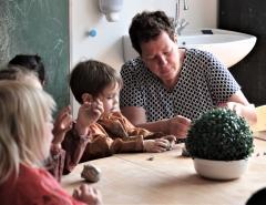 Kinderbegeleiders in het kleuteronderwijs