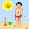 Het nieuwste liedje in KIDDO's rubriek Minimuze: In de zomerzon