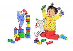 Het nieuwste liedje in KIDDO's rubriek Minimuze: Toren bouwen